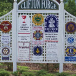 Welcome Sign - Clifton Forge, Virginia