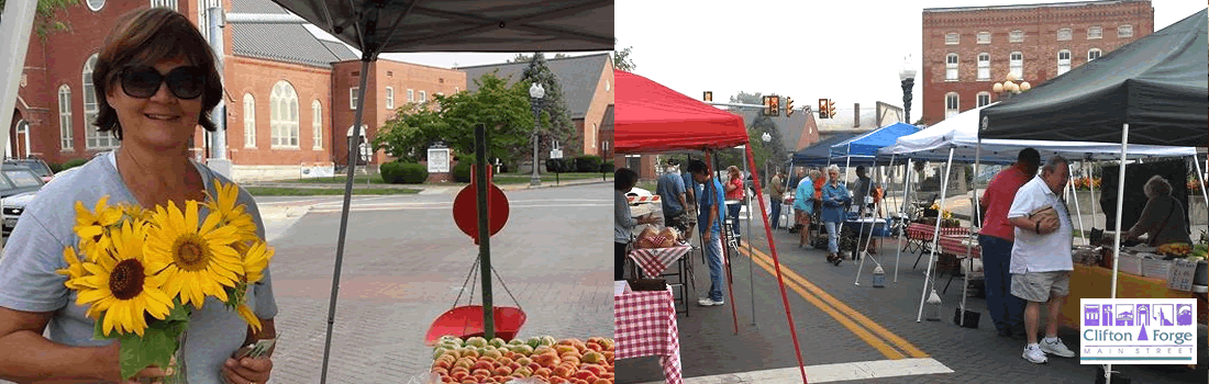 Clifton Forge Main Street - Farmers Market Fridays
