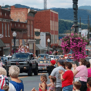 STARS AND STRIPES CELEBRATION  @ Clifton Forge, Virginia