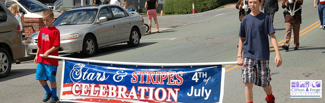 Clifton Forge Main Street - Star and Stripes Celebration July 4th