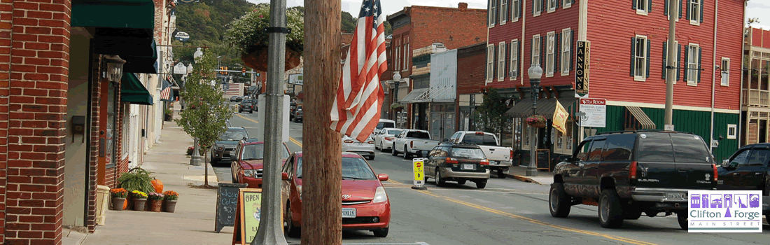 Clifton Forge Main Street - visit downtown